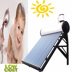 Pre-Heated Solar Water Heating System (Copper Coil Solar Water Heater) pictures & photos