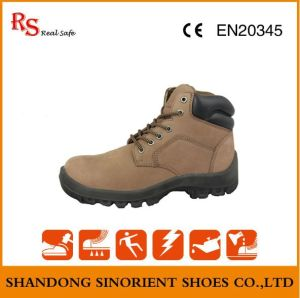 Fashionable Nubuck Leather Safety Boots for Women RS047 pictures & photos