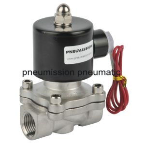 Pneumatic Stainless Steel Solenoid Valves (Brass 2 way valve) pictures & photos