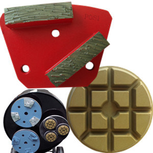 Diamond Grinding Plates / Polishing Pads for Concrete Floor pictures & photos