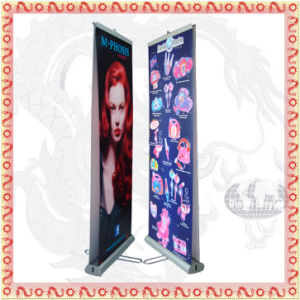 Double Side Roll up Banner Stand (DR-01) pictures & photos