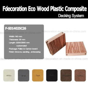 Eco Wood Plastic Composite Decking Outdoor WPC Flooring pictures & photos