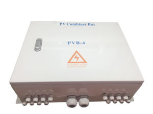 Solar Junction Box Waterproof PV Combiner Box with DC SPD pictures & photos