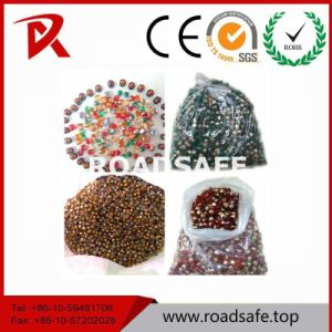 Hot Sell Cat Eyes Glass Beads Round Plastic Reflector pictures & photos