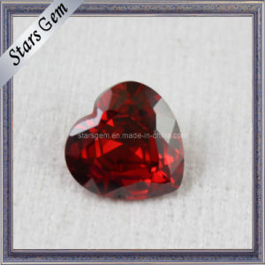 AA Brilliant Heart Shape Zircon Gemstones pictures & photos