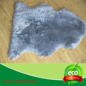 Baby Beds Polyester Synthetic Sheepskin Rug Faux Fur Rug