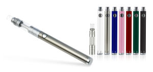 Electronic Cigarette with Glass Drip Tip & Adjustable Airflow System, Vaporizer pictures & photos