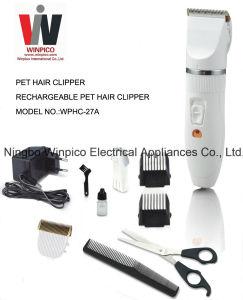 Rechargeable Pet Hair Clipper pictures & photos