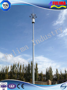 Galvanized Steel Pole Microwave Communication Tower for Telecommunication (SCT-003) pictures & photos