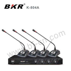 VHF Cheaper Price Wireless Meeting Microphone System K-804A