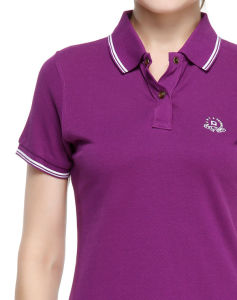 Design High Quality Women′s Polo Shirts pictures & photos