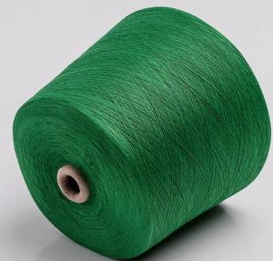 Cationlic Dyed Yarn Ring Spun Polyester Yarn pictures & photos