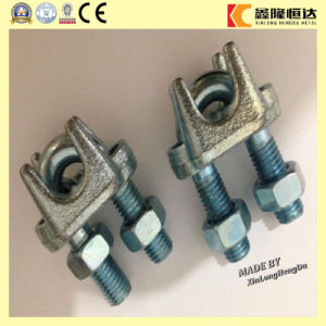DIN741 U. S. Type Galv Malleable Wire Rope Clips pictures & photos