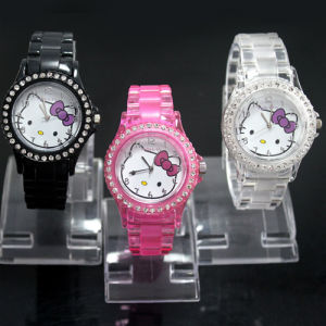New Arrival Silicone Digital Quartz Watch (FY-W011)