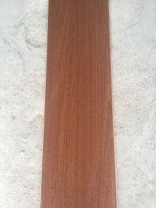 Zhongshan C&L HDF 8mm High Quality Teak Color Laminate Flooring pictures & photos