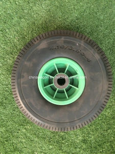 4.10/3.50-4 Flat Tire PU Foam Wheel pictures & photos