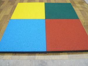 Kindergarten Rubber Mat, Playground Rubber Tile, Gym Rubber Floor pictures & photos