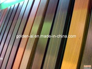 Aluminium Wood-Grain Profiles for Windows and Doors