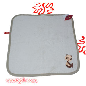 Natural Organic Cotton Panda Baby Towel pictures & photos