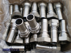 Bsp Jic NPT Carbon Steel / Stainless Hydraulic Hose Fitting pictures & photos