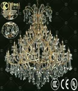 Newest Modern Design Luxury Crystal Chandelier Lamp (AQ09004-20+10+10+5+5+5) pictures & photos