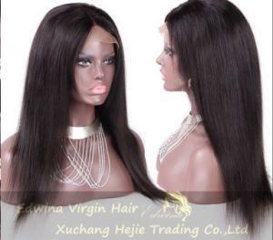22inch 130% Density Straight Brazilian Virgin Human Hair Full Lace Wig