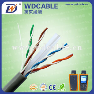 23AWG Bc CCA Ccag UTP CAT6 LAN Cable