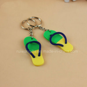 Factory Custom PVC Souvenir Keychain pictures & photos