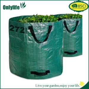 Onlylife 2 Strong Garden Bags Rubbish Leaf Bag with Handles pictures & photos