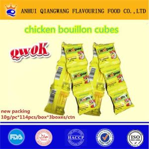 Super Halal Candy Packing Chicken Seasoning Cube Poulet Bouillon Cube Chicken Cube Soup Cube