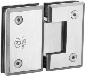 180 Degree Glass to Glass Shower Door Hinge Made by Stainless Steel pictures & photos