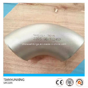 90deg Saf2205 Seamless Stainless Steel Elbow pictures & photos