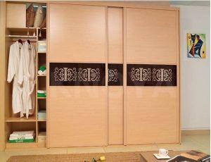 Popular Panel Bedroom Wooden Wardrobe Door Designs pictures & photos