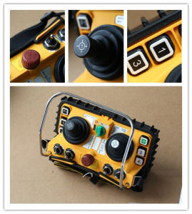 Industrial Wireless Remote Crane Controller Joystick F24-60 pictures & photos