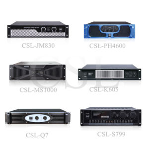 Fashion Color Professional Power Amplifier for Audio Sound Show pictures & photos