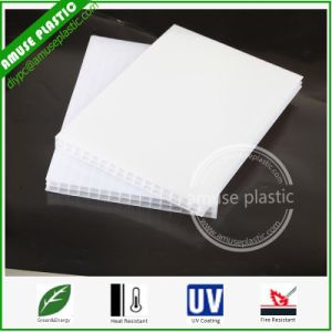 10mm Sabic Lexan Pocerlain White Plastic Triple Wall Polycarbonate Hollow Sheet Multi-Layer pictures & photos