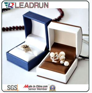 Leather Velvet Jewelry Storage Box Ring pendant Bracelet Bangle Packing Gift Box (Ys331) pictures & photos