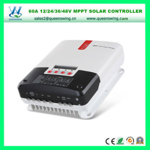 MPPT 60A 12/24/36/48V Max Solar Input 150V Solar Power Controller pictures & photos