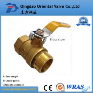 Female Male Valve Brass Price Per Kg with NPT Thread (Dn25 Pn20) pictures & photos
