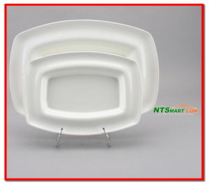 Ceramic Plate/Ceramic Plates/Porcelain Tray (000001708/1709/1710/1711/1712) pictures & photos
