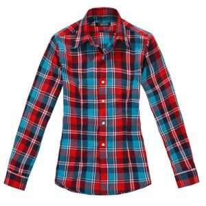 100%Cotton Casual Women′s Shirt