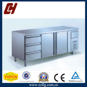 Undercounter Refrigerator Freezer with Three Drawers pictures & photos