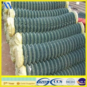 PVC Coated Chain Link Fence for Football Court pictures & photos