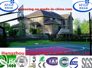 Modular Outdoor Interlcoking Basketball Sport Flooring System Tiles pictures & photos