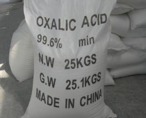 Oxalic Acid 99.6% for Leather and Textile pictures & photos