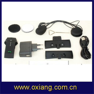 Newest Motorcycle / Ski Helmet Bluetooth Intercom Headset Support Intercom 1km pictures & photos