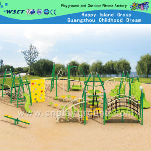Steel Structure Outdoor Playground Equipment on Stock (HA-11901) pictures & photos