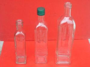 High Quantity Glass Olive Oil Bottles 750ml