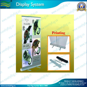 80X200cm Aluminum Roll up Banner for Display (NF22M01009) pictures & photos