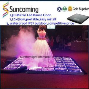 LED Outdoor IP67 Waterproof 3D Infinity LED Dance Floor Light pictures & photos